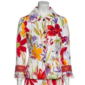 Dolce & Gabanna Floral Blazer